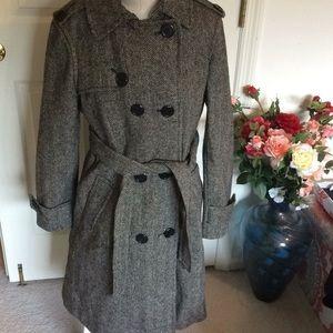 Gap wool & viscose coat size large